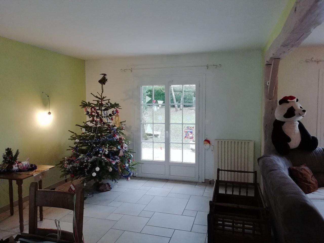 Rénovation d'un salon / séjour près de Chartres (28)