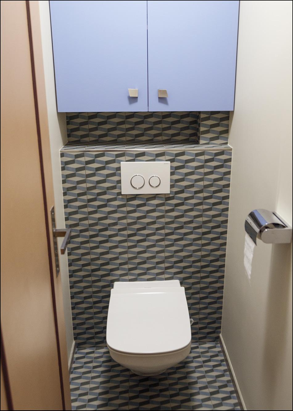 Réfection d'une salle de bain à Houilles (78)