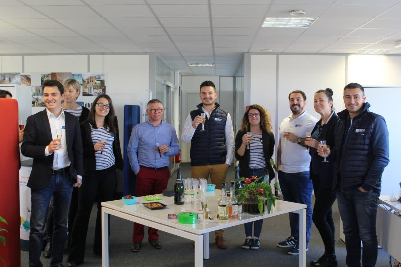 deux nouveaux responsables d'agence - Nicolas Jonchere