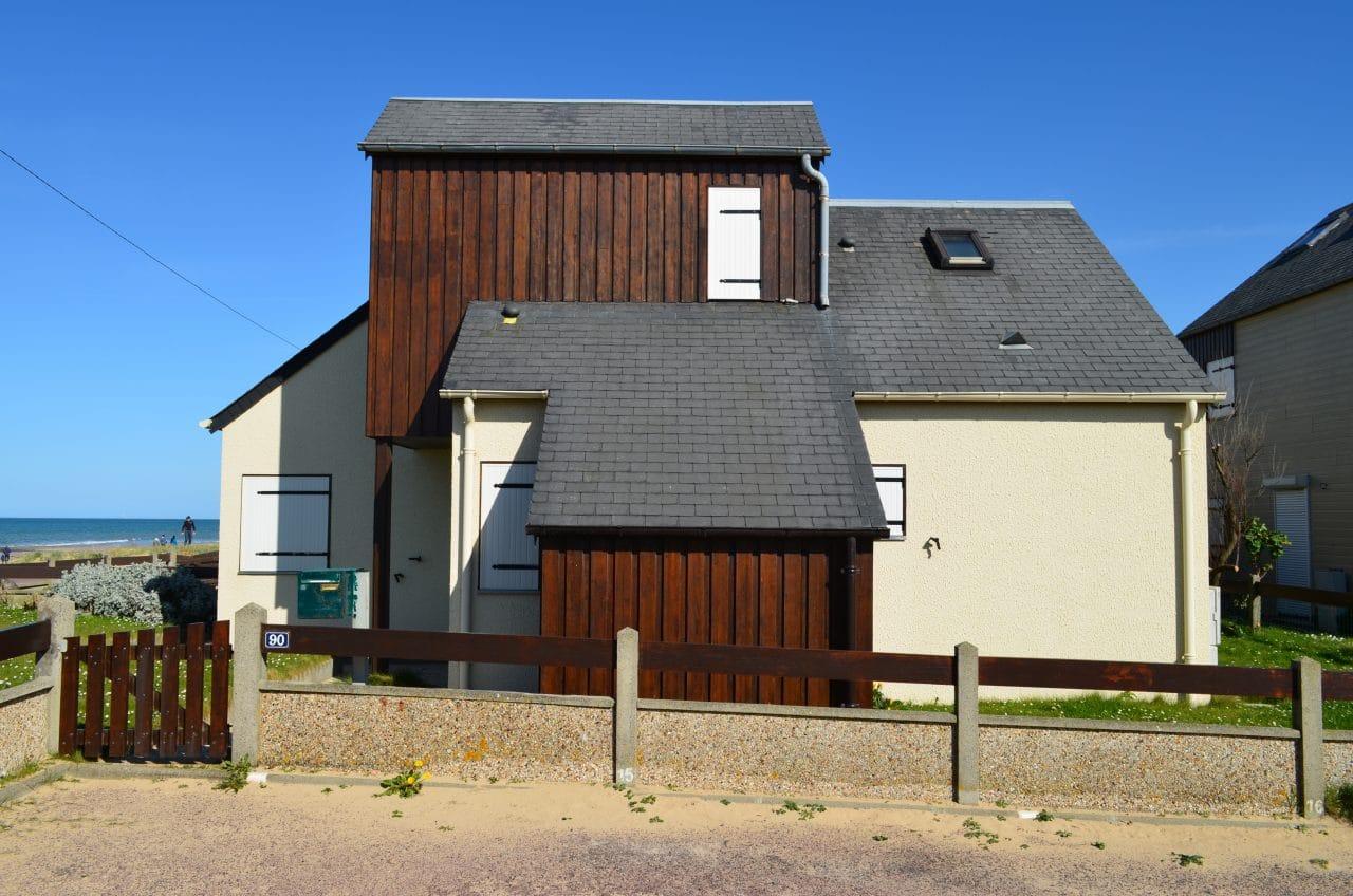maison de vacances à la mer