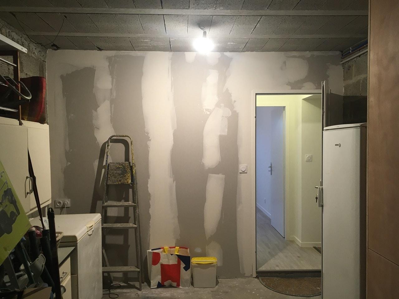 Création d'une chambre dans un garage à Vannes (56)