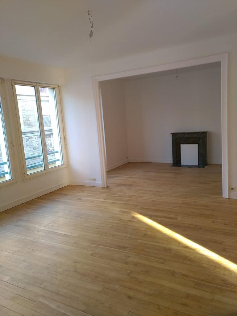 Rénovation d'un appartement destiné à la vente à Lorient (56)