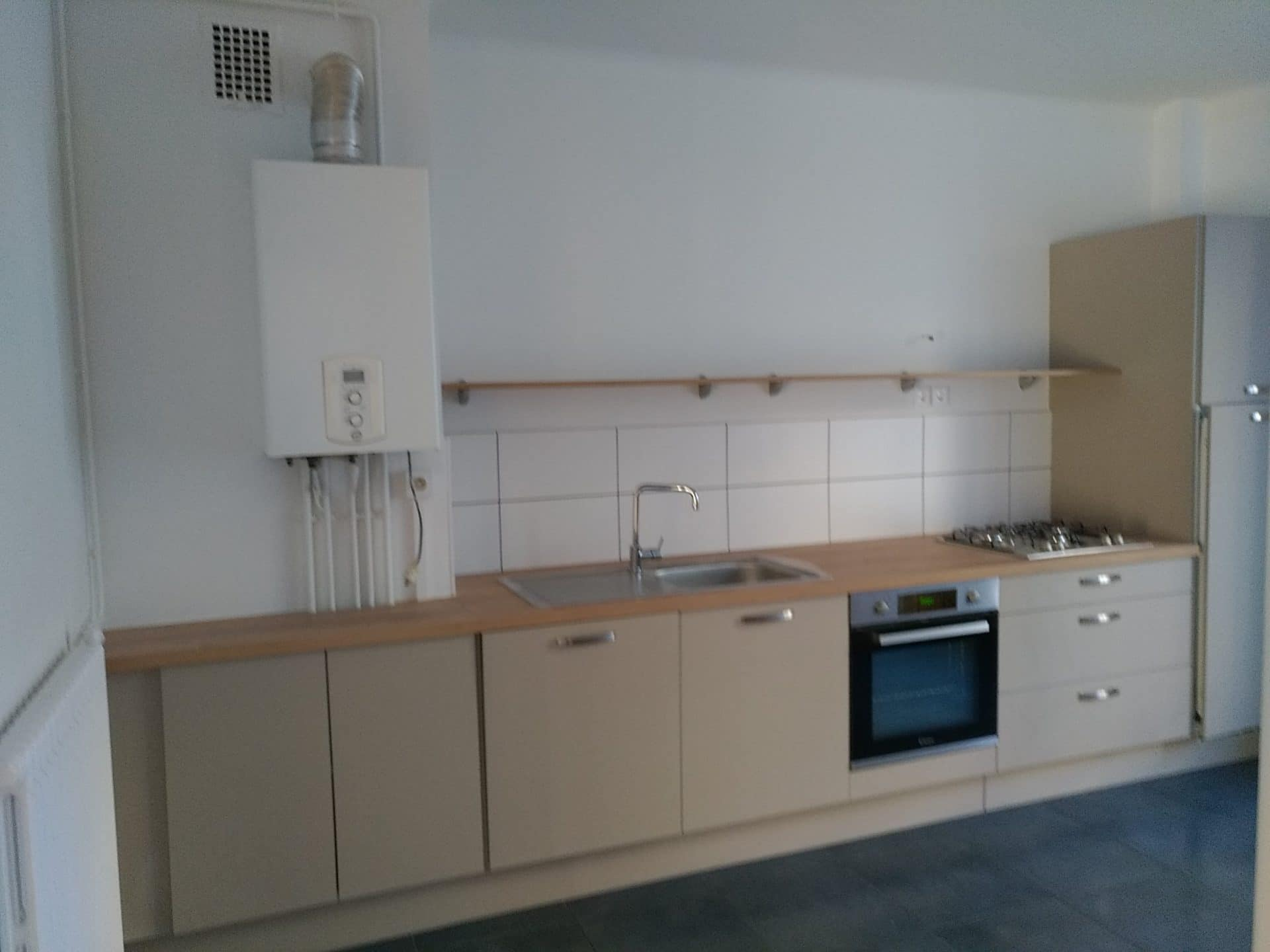 Rénovation d'un appartement destiné à la vente à Lorient (56)