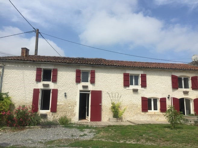 Rénovation intérieure et extérieure d'une maison à Lapouyade (33)