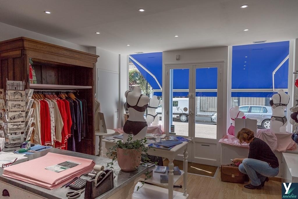 Rénovation d'un magasin à Villeneuve-sur-Yonne (89)