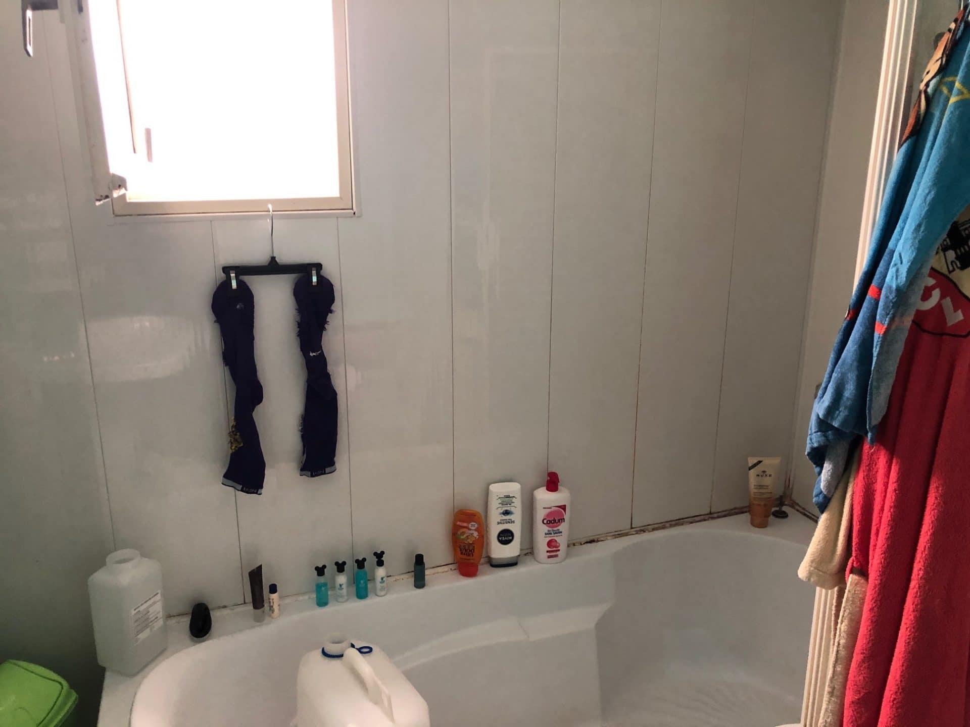 Rénovation d'une salle de bain à Croisilles (62)