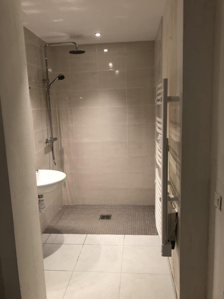 Aménagement d'une salle d'eau PMR à Talence (33)