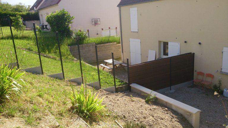 Aménagement extérieur à Fleury la Vallée (89)