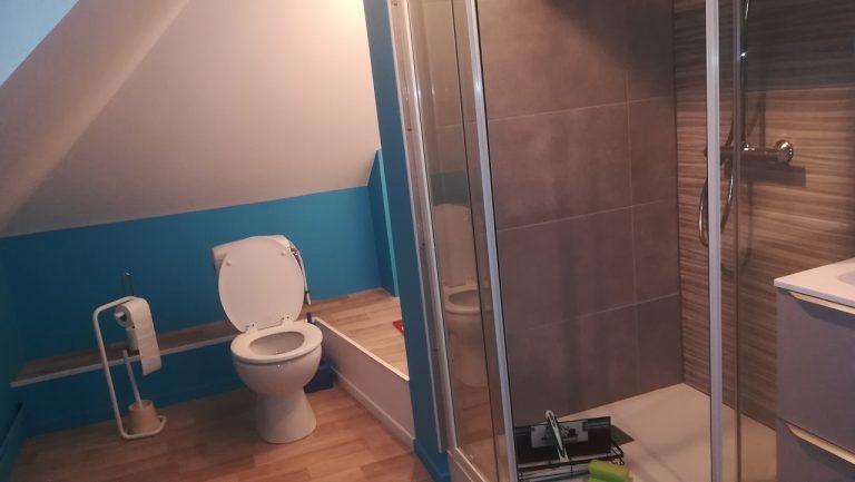 Rénovation d'une salle de bain à Marcq-en-Barœul (59)