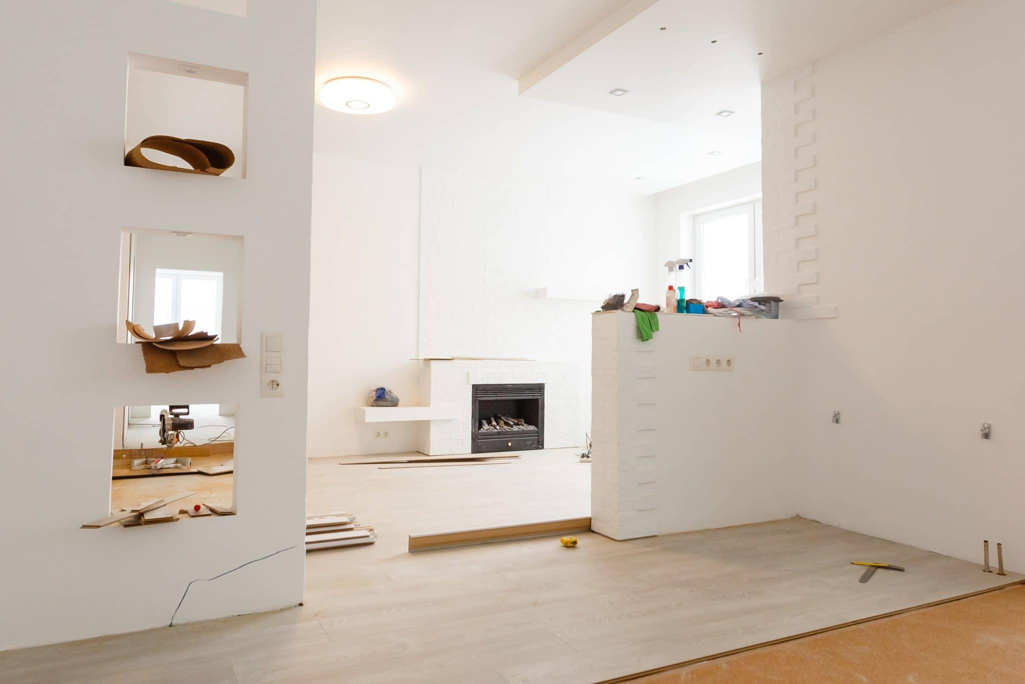 Travaux et Rénovation de maison moderne