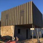 agrandissement maison travaux menuiserie charpente bardage bois Le Loroux-Bottereau