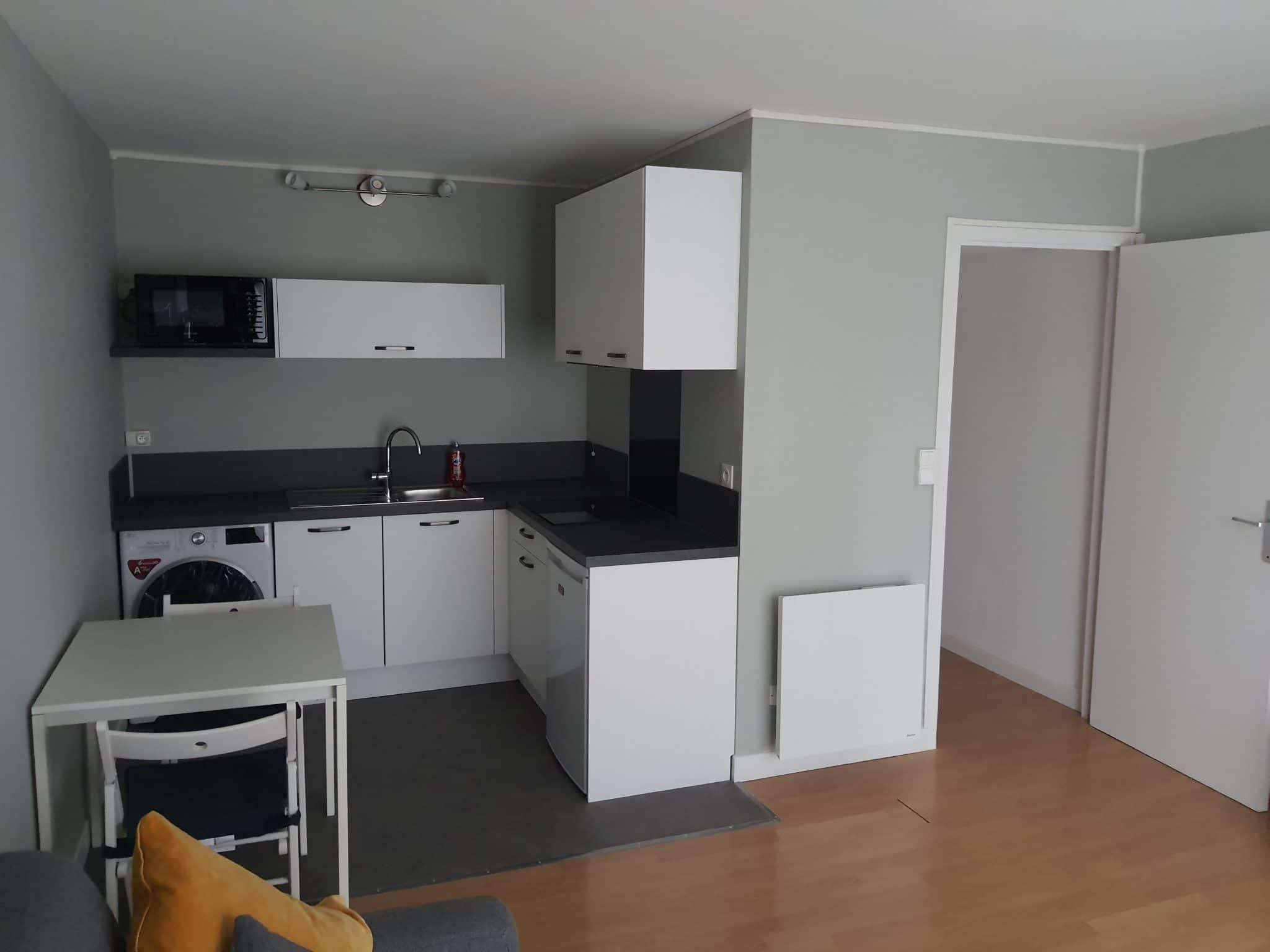 Rénovation d'un studio pour de la location à Lille (59)