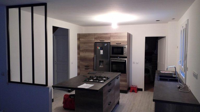 Rénovation d'une maison à Gas (28)