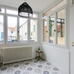 rénovation surélévation entrée carrelage menuiserie fenêtre peinture maison Dijon