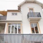 rénovation surélévation maison façade clôture garde-corps gouttière Dijon