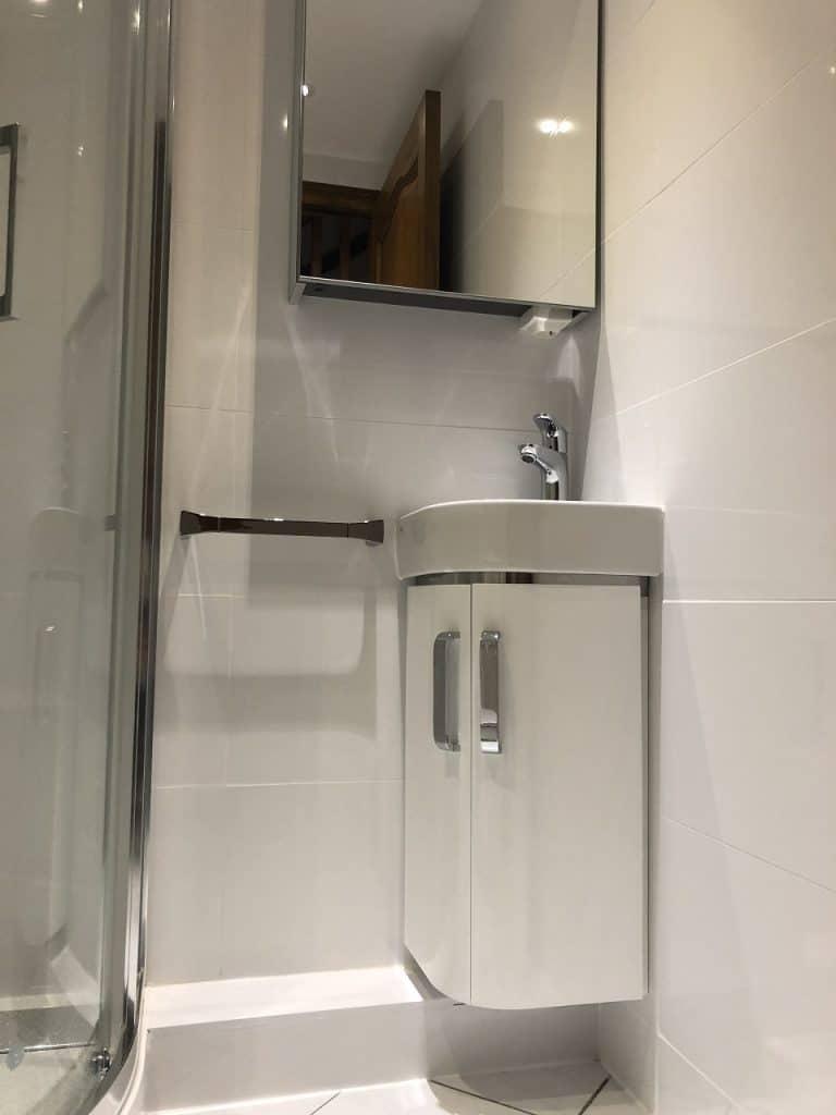 Rénovation d'une salle de bain dans le Grésivaudan (38)