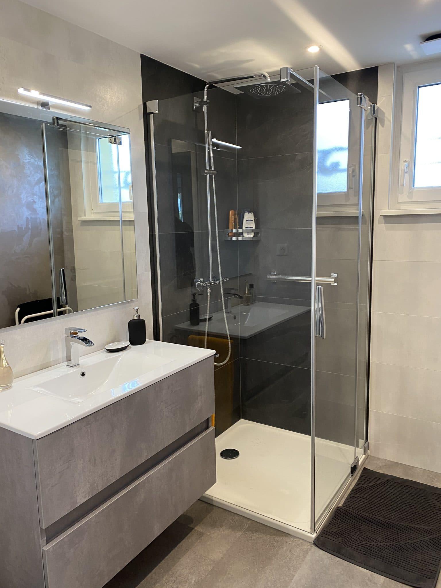 Transformation d'une salle d'eau à La Wantzenau (67)