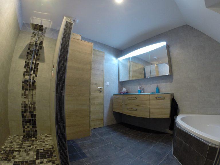 Superbe rénovation d'une salle de bain à Kochersberg (67)