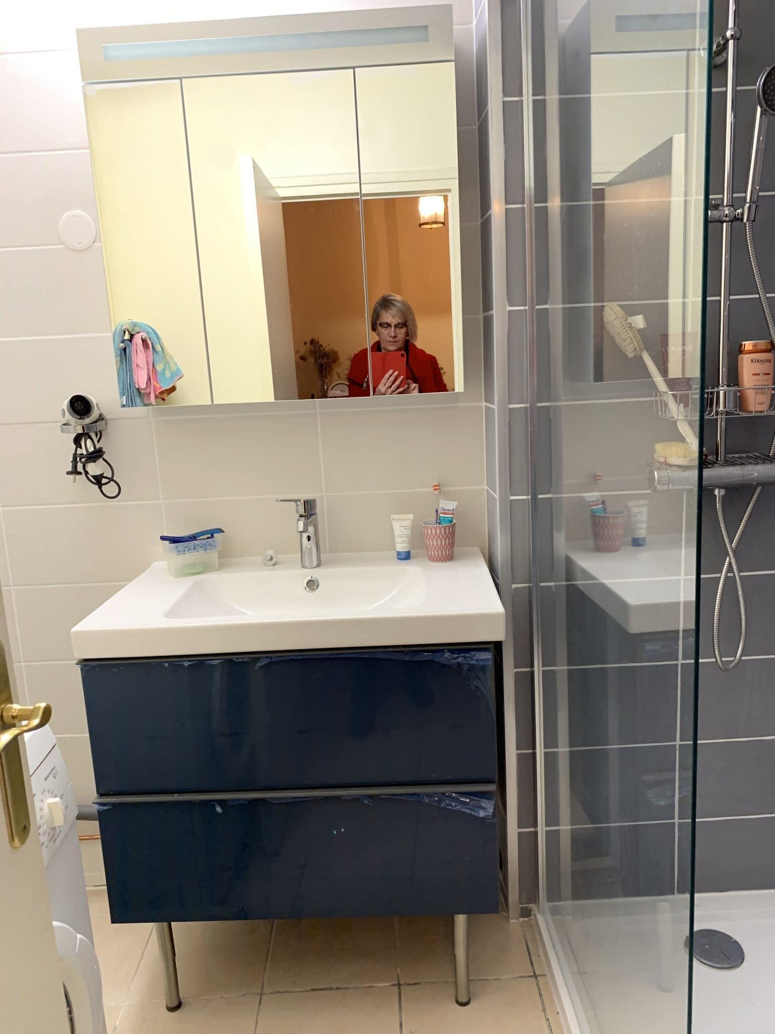 Des travaux de rénovation dans une salle d'eau à Saint-Etienne (42)