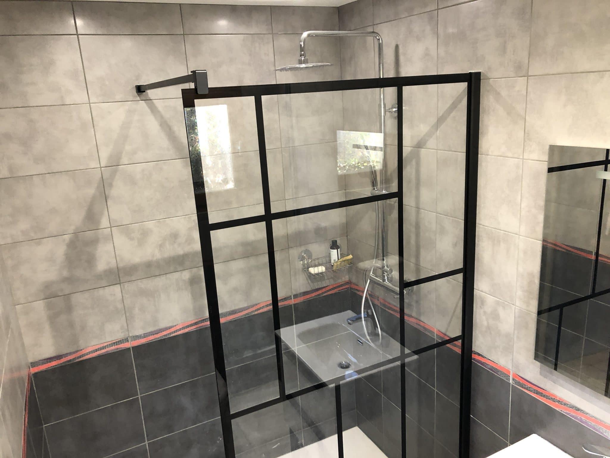 Réfection d'une salle de bain dans le Pays Voironnais (38)