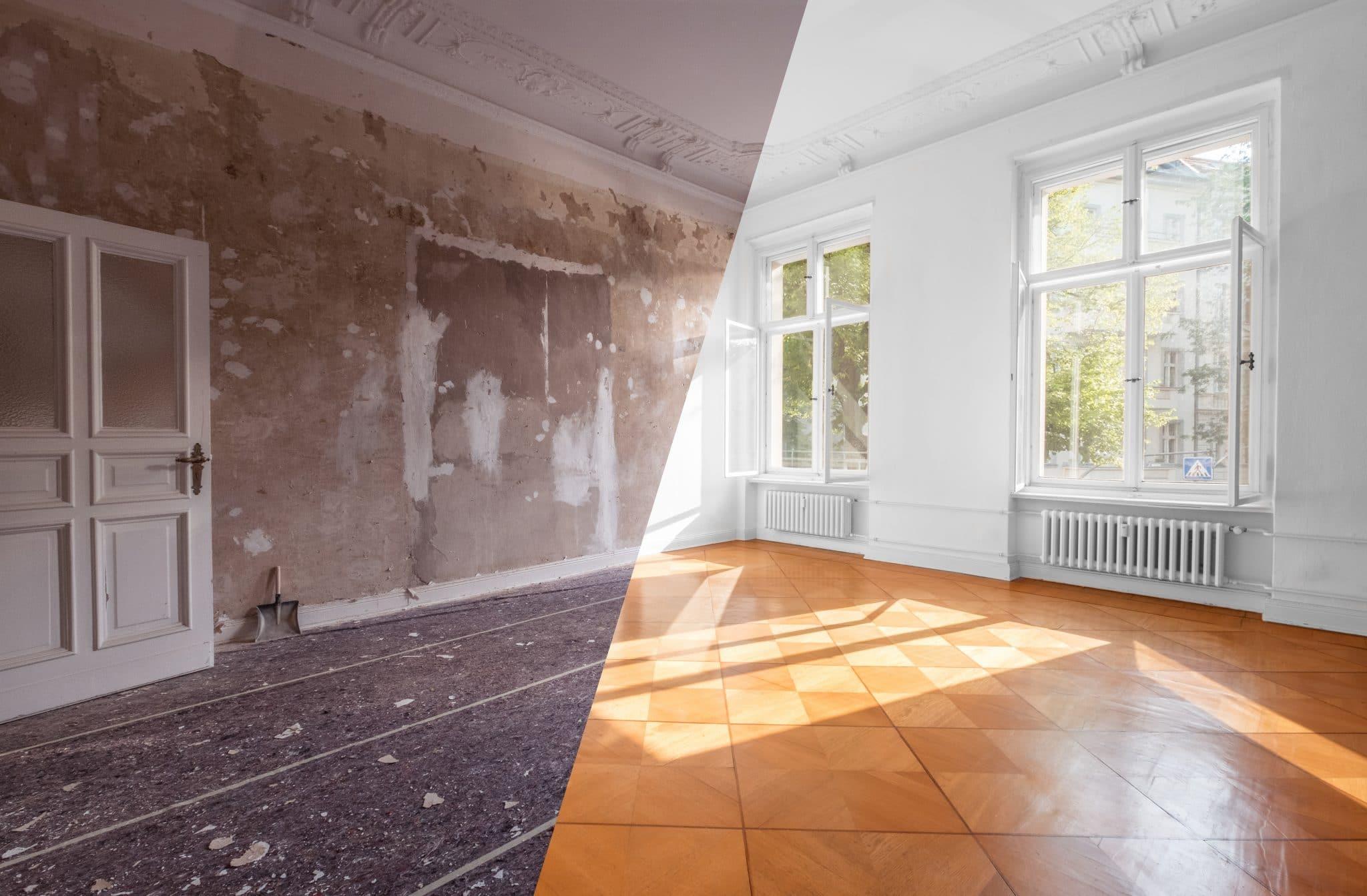 Rénovation appartement T3
