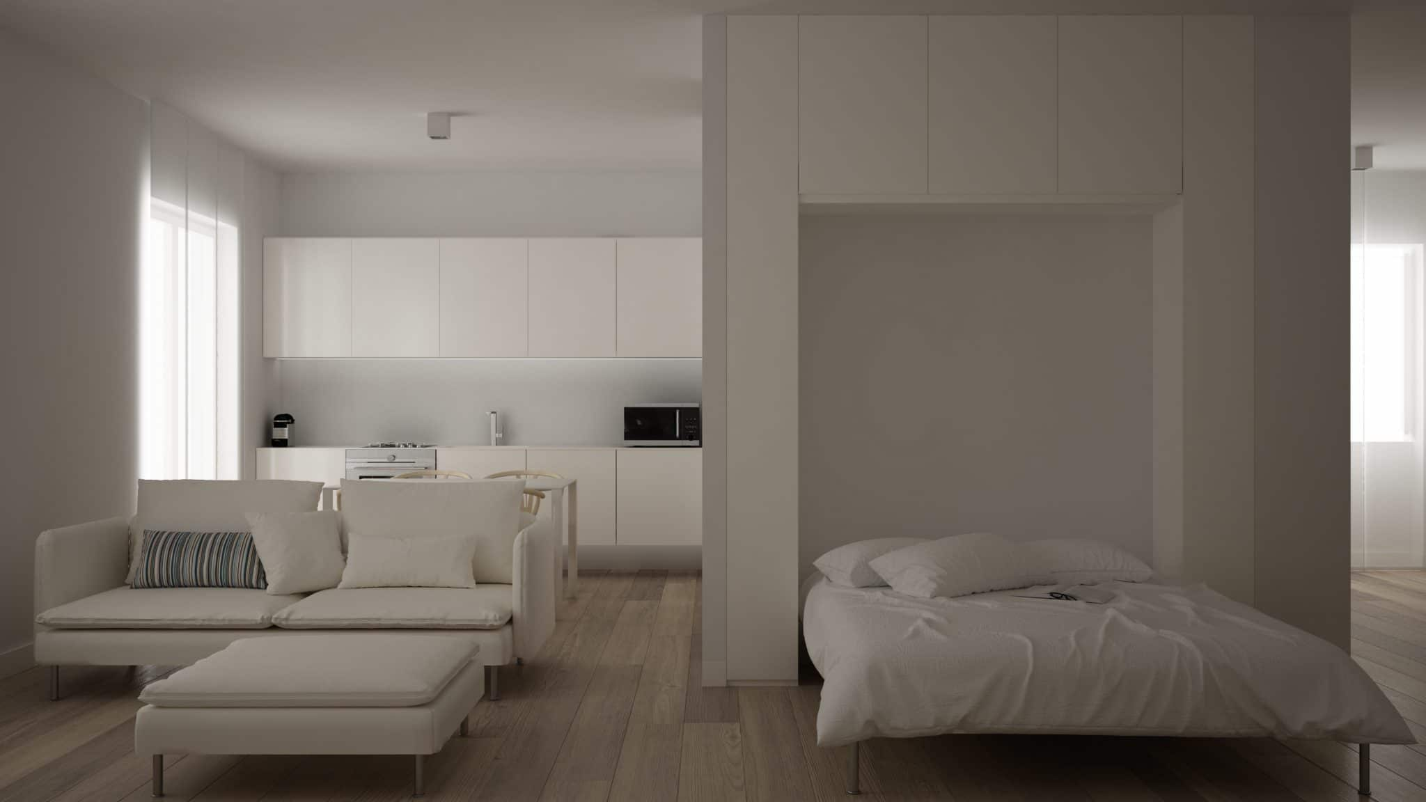 Rénovation appartement 25 m2