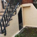 aménagement extérieurs Beaumont - entretien ferronnerie et peinture muret