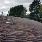 Pose fenêtre de toit et puits de lumière : vue depuis le toit