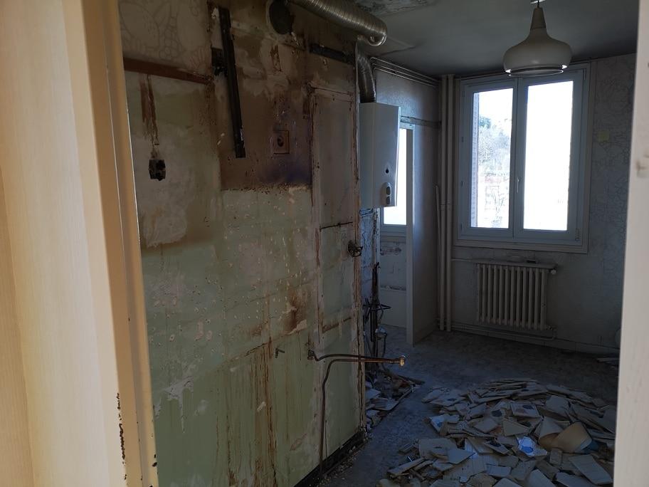 Rénovation d'un appartement à La Mulatière en vue d'une location (69)