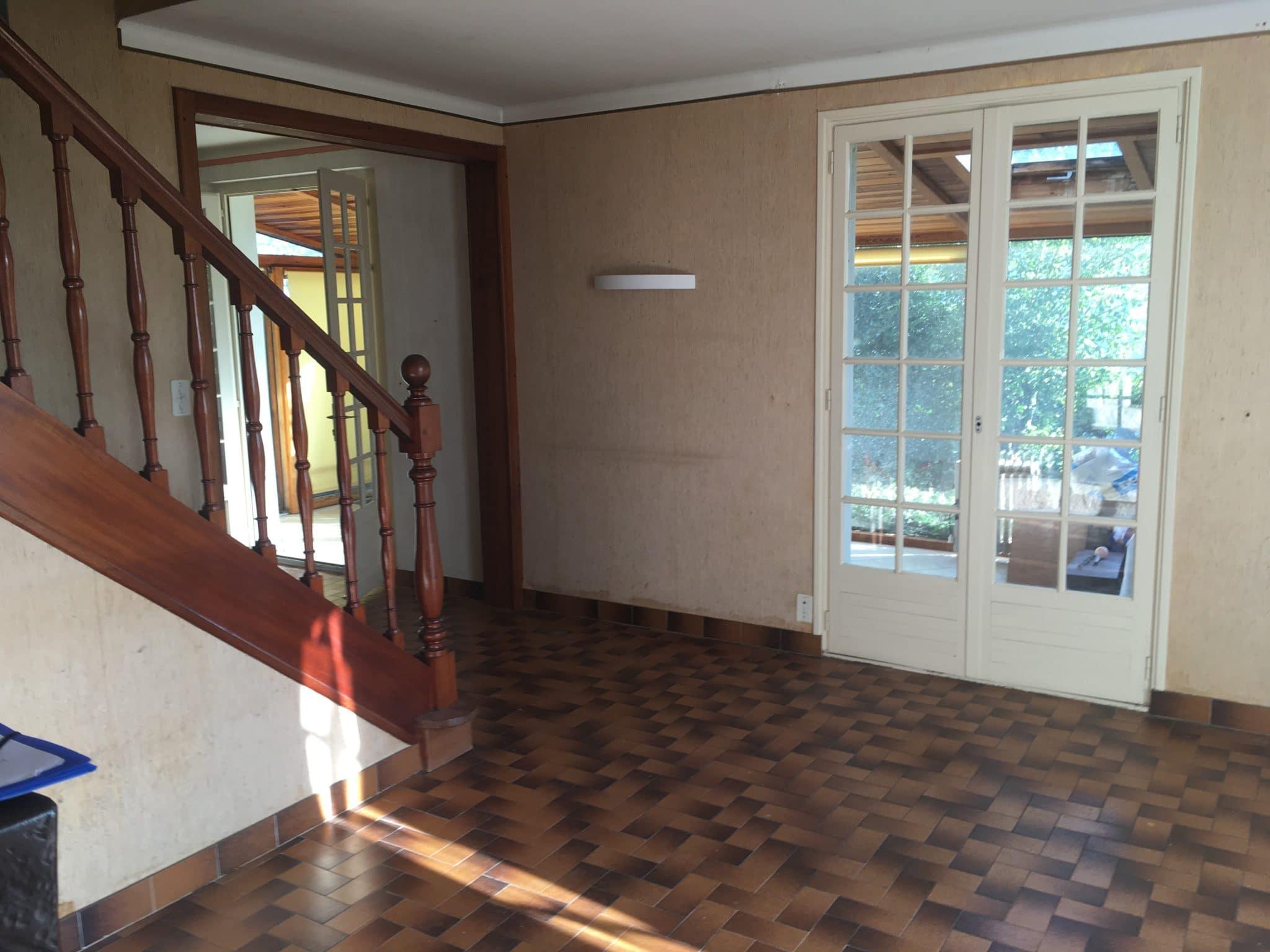 Des travaux de rénovation dans une maison à Saint-Nolff (56)