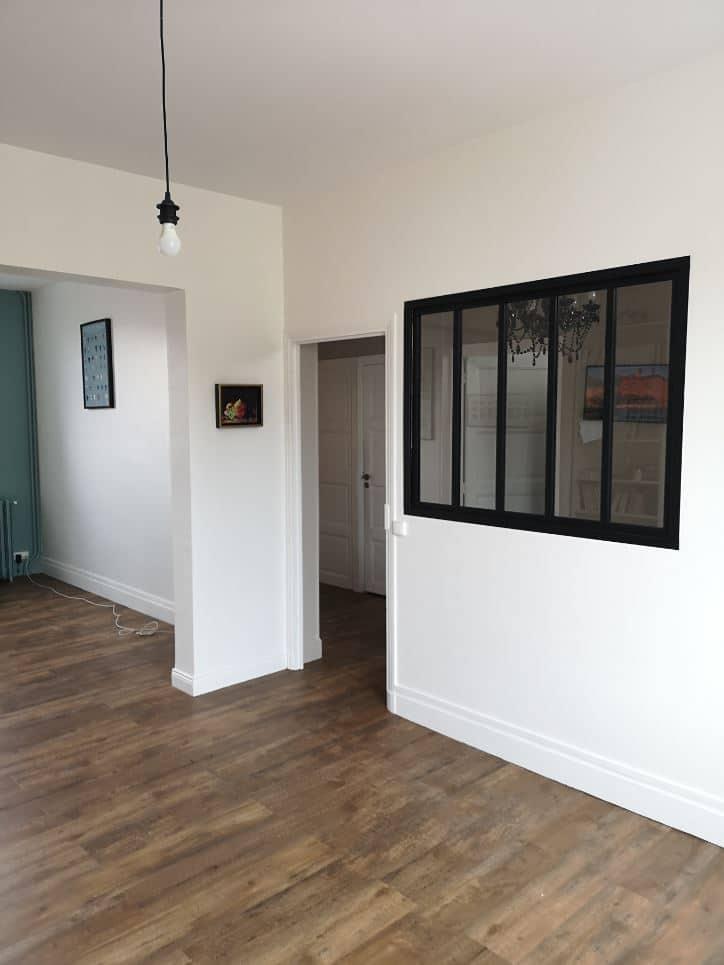 Rénovation de la pièce de vie d'une maison à Beaumont (63)
