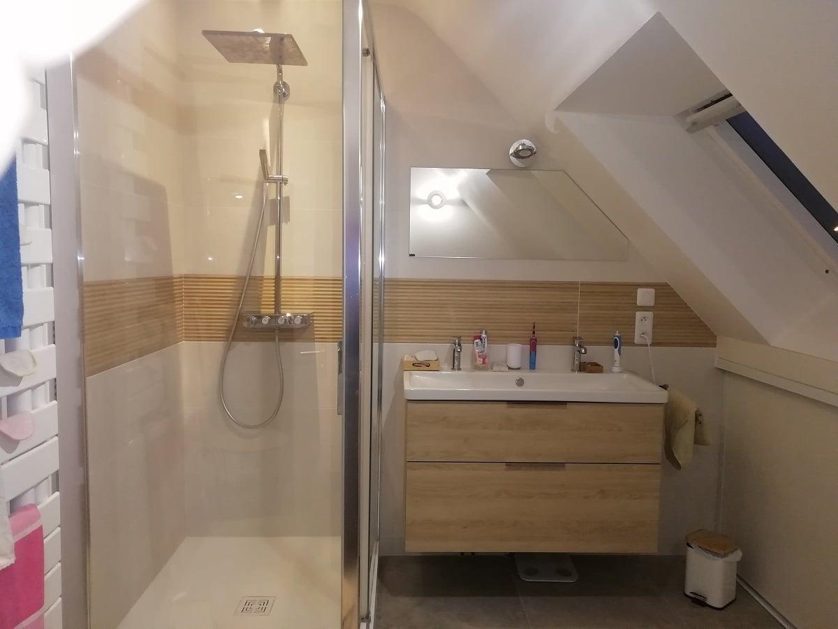 Rénovation d'une salle de bain à Servon-sur-Vilaine (35)