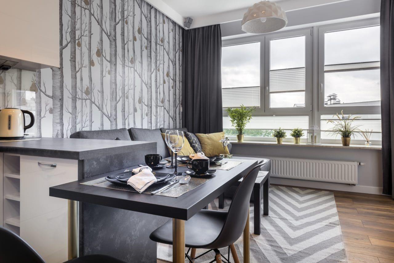 Réaménagement d'un petit appartement de 40 m2