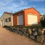 Extension de maison à Paulhac : en cours de travaux