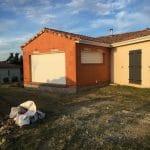Extension de maison à Paulhac : avant finitions extérieures