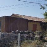 création d'une extension maison en bois : vue extérieure après livraison