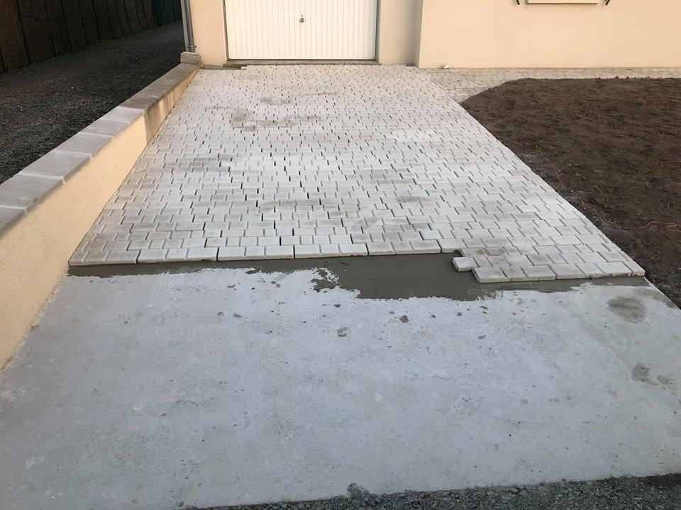 Travaux d'aménagement extérieur à Véretz (37)