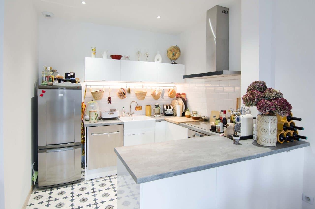 rénovation appartement Montpellier - cuisine