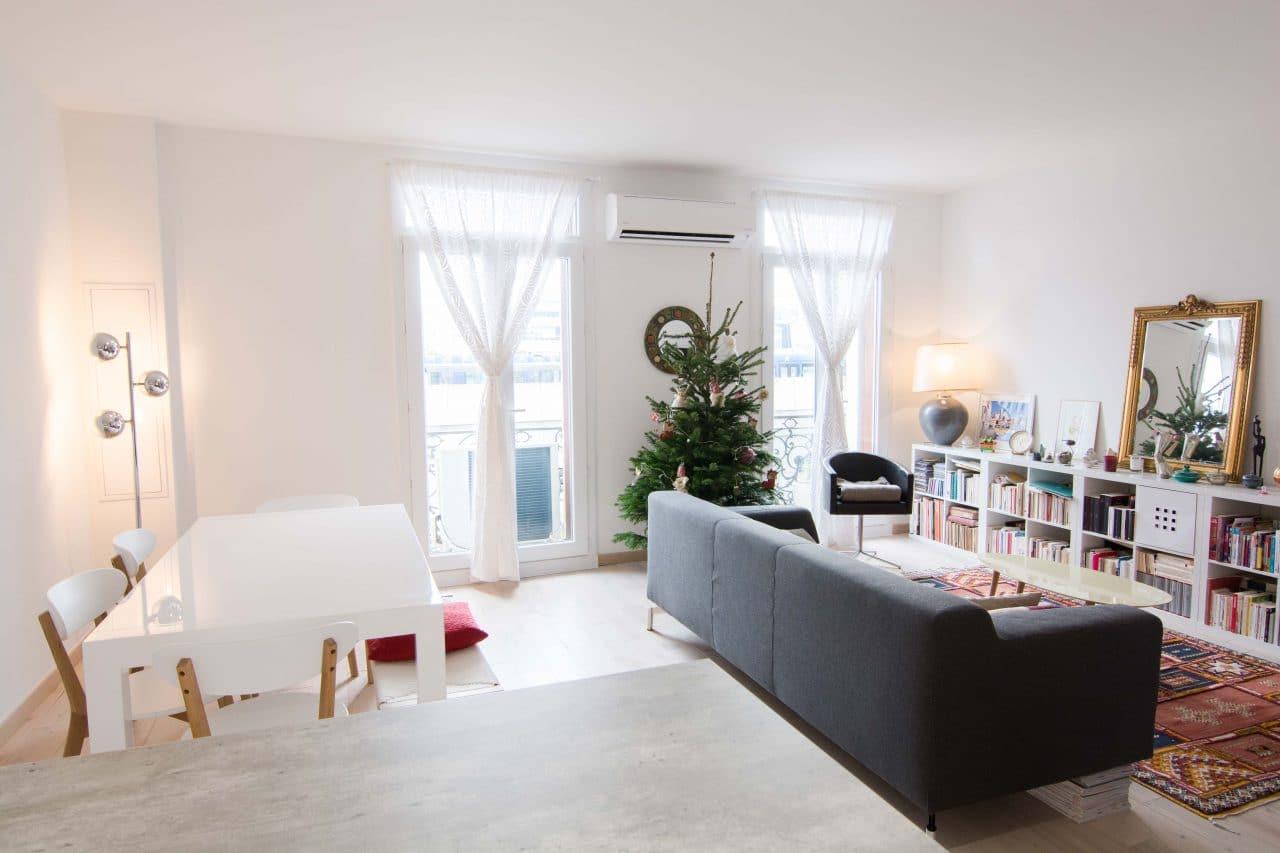 rénovation appartement Montpellier - pièce de vie