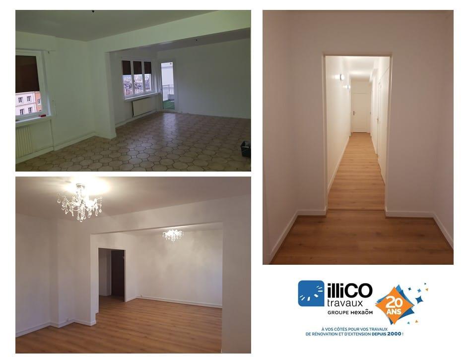 Rénovation complète d'un appartement de 110 m² à Rouen (76)