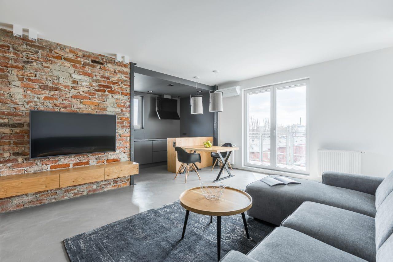 rénovation appartement Strasbourg - pièce de vie
