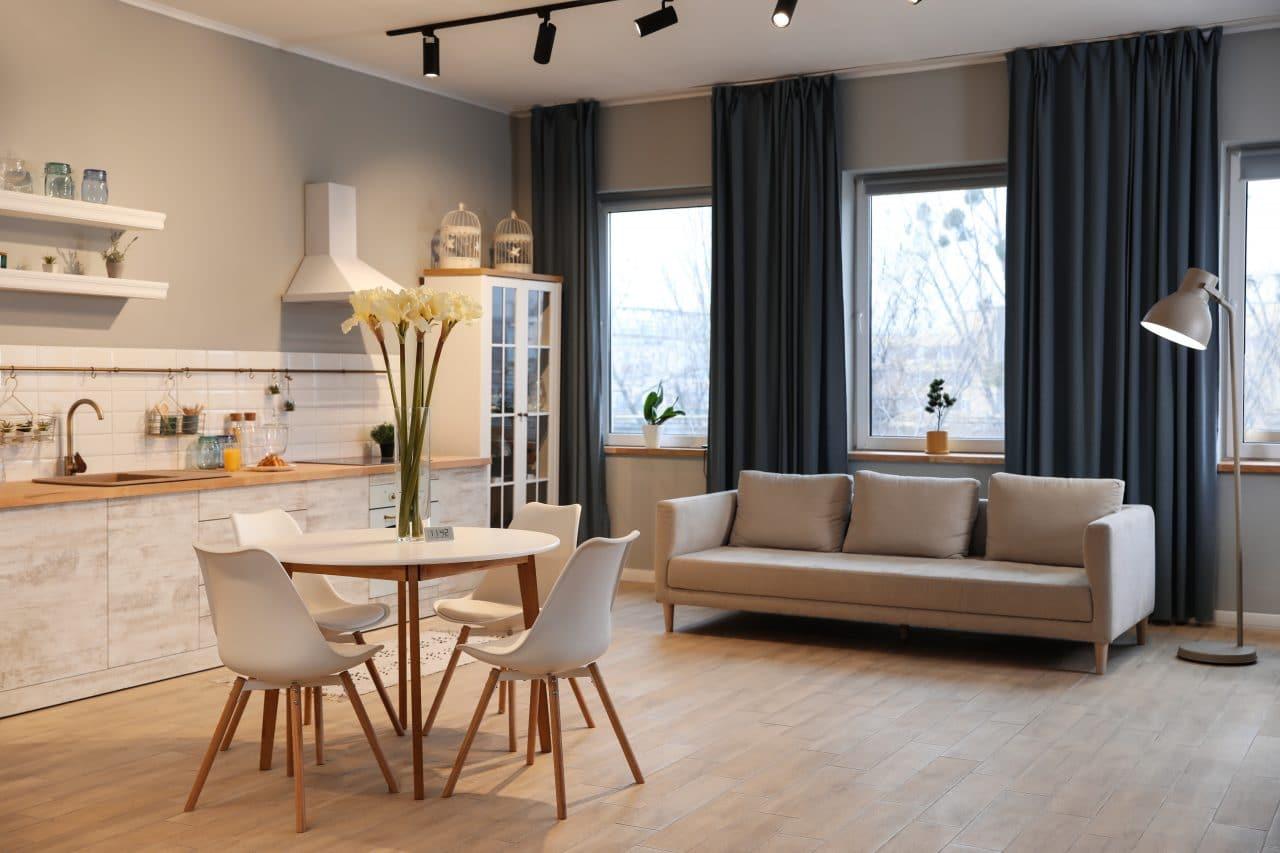 rénovation d'appartement à Toulouse : pièce de vie
