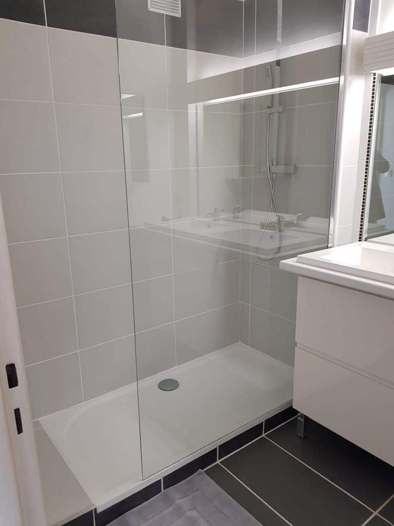 Réfection d'une salle de bain à Pau (64)