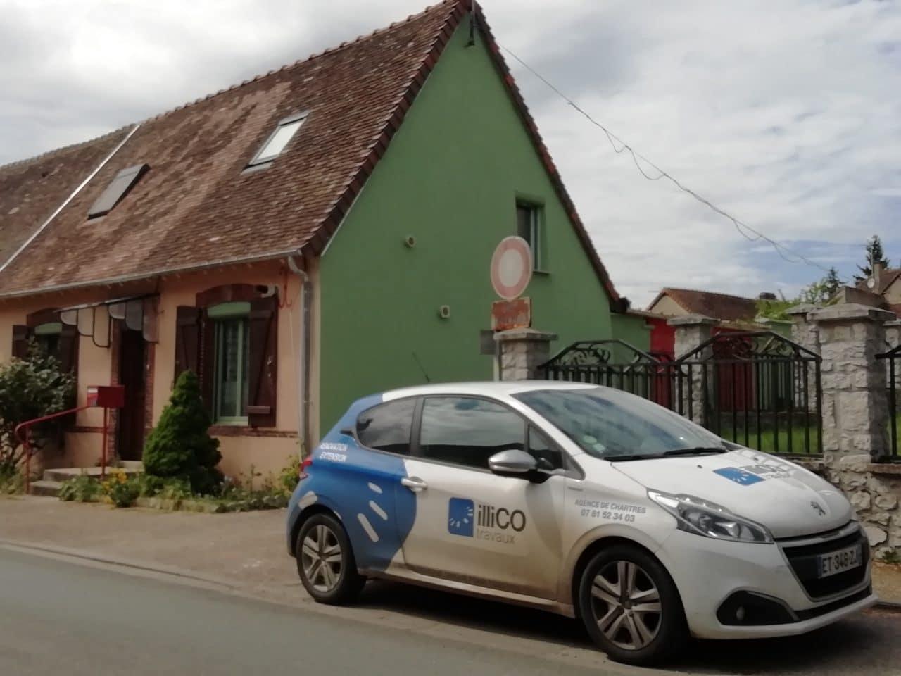 rénovation toiture maison couverture sous-toiture isolation Belhomert-Guéhouville