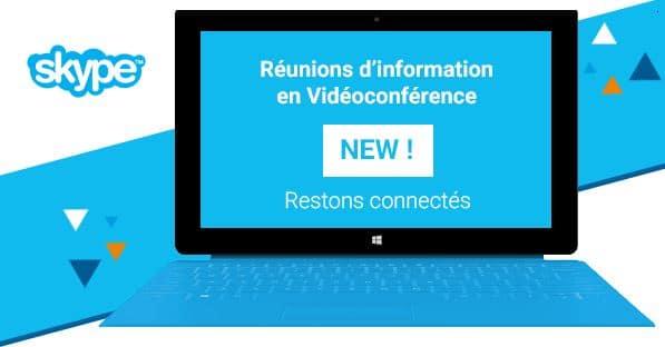 réunions d'information par vidéoconférences par illiCO travaux