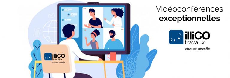 Découvrez illiCO travaux à distance grâce aux vidéoconférences !