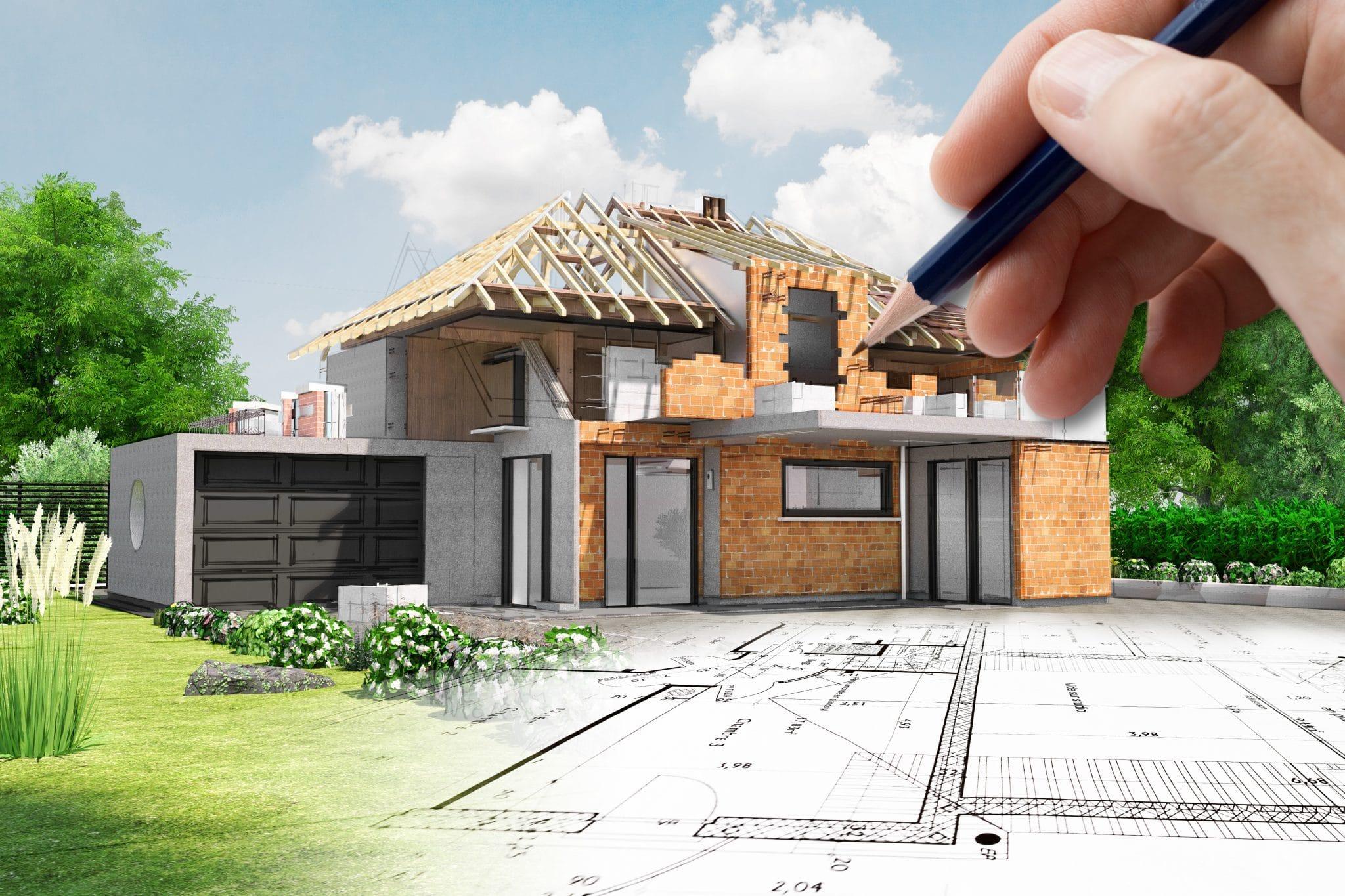 Extension de maison années 50