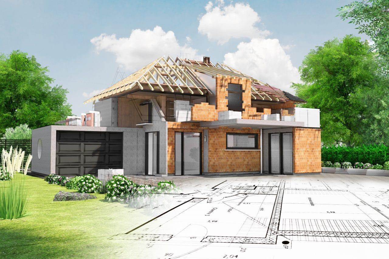 projet d'extension maison années 50