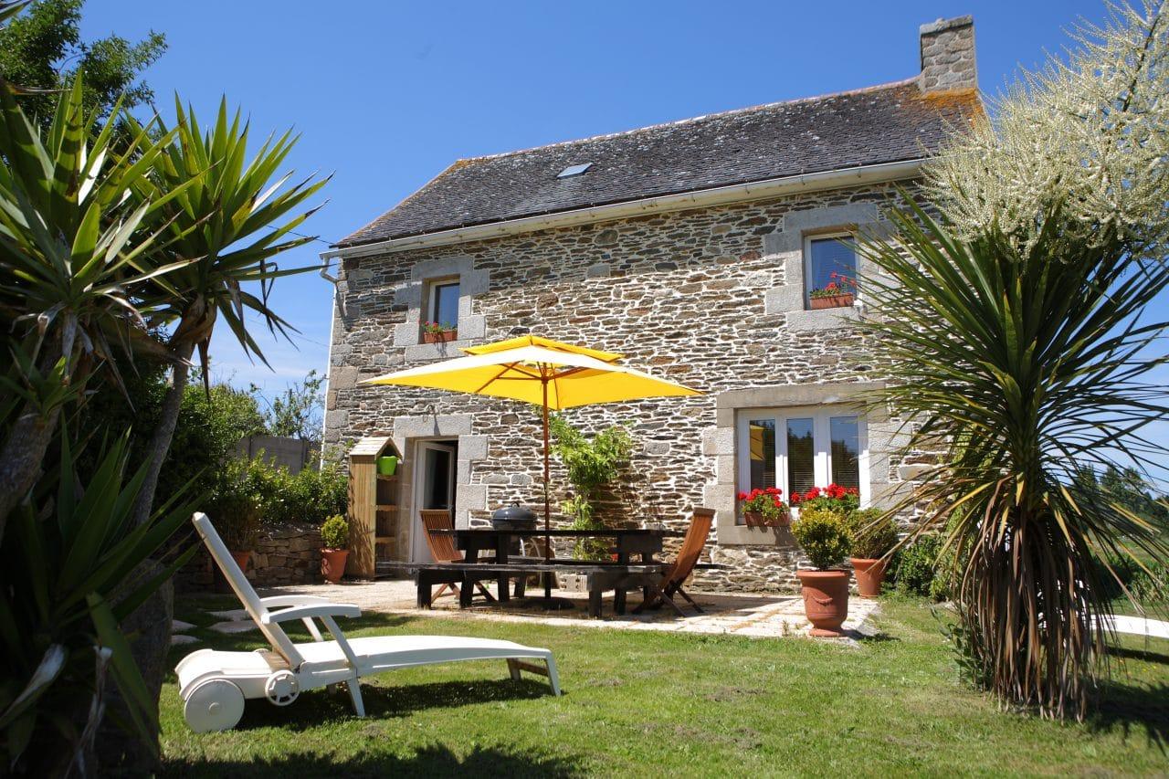 maison de campagne bretonne