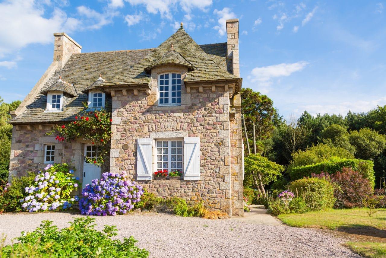 belle maison campagne en Bretagne